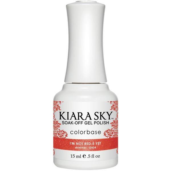 Kiara Sky Nagelgel I´m not Red-e yet (G424)