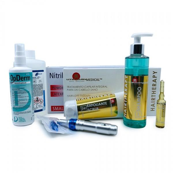 Microneedling Anti-Haarausfall Set