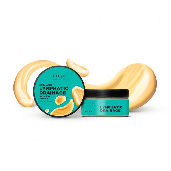 Letique Cosmetics® Lymphatic Drainage Body Wrap Gel | Body Wrap mit Lymphdrainage-Effekt