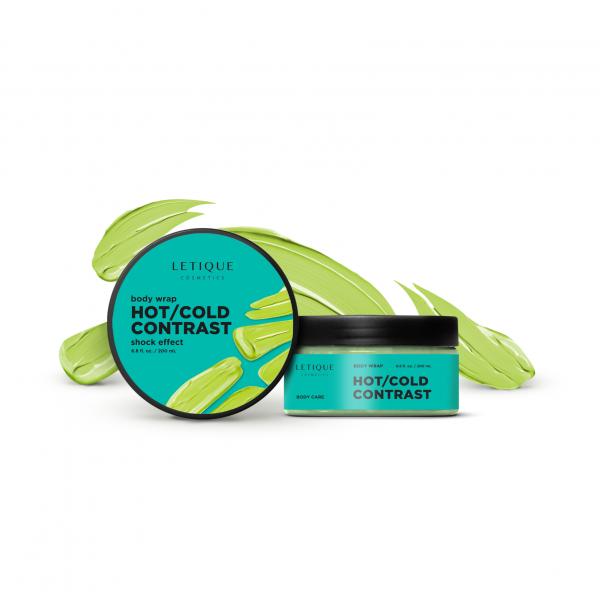 Letique Cosmetics® Hot/Cold Contrast Body Wrap Gel | Body Wrap mit Cellulite-Shock-Effect