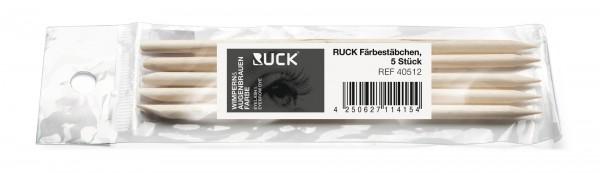 RUCK® Färbestäbchen (5 Stück) für Wimpern und Augenbrauen