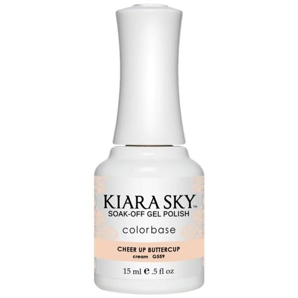 Kiara Sky Nagelgel Cheer Up Buttercup (G559)
