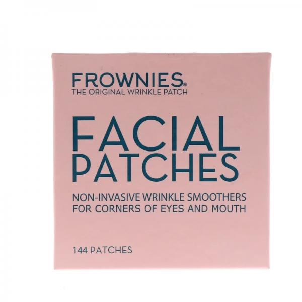 FROWNIES® Anti-Falten-Pflaster | für Mundwinkelfalten & Krähenfüße | 144 Facial Patches