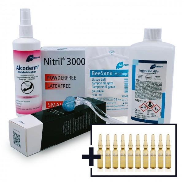 Dermaroller Whitening & Depigmentierung Set
