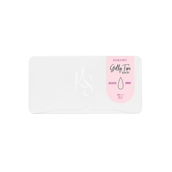 Kiara Sky® Stiletto Short Nageltips (Einzelbox)