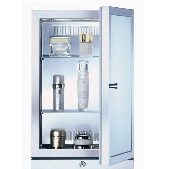 biszet Kosmetik-Kühlschrank b7 für Studios, Spas und luxuriöse Wohnungen