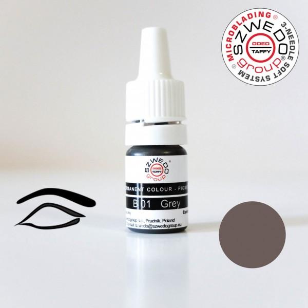 B-01 Gray Microblading-Pigment (5 ml)