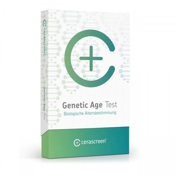 cerascreen® Genetic Age Test   biologisches Alter bestimmen   Selbsttest zu Hause + Empfehlungen