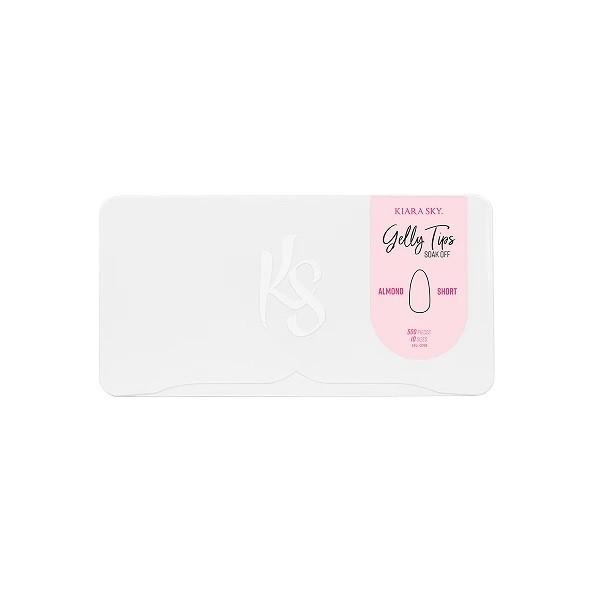 Kiara Sky® Almond Short Nageltips (Einzelbox)