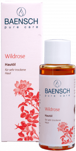 Natives Bio-Wildrosenöl