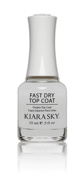 Kiara Sky® Nagellack Top Coat Fast Try