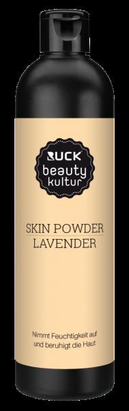 RUCK® Skin Powder Lavender | Bindungspulver | bindet Feuchtigkeit vor dem Sugaring