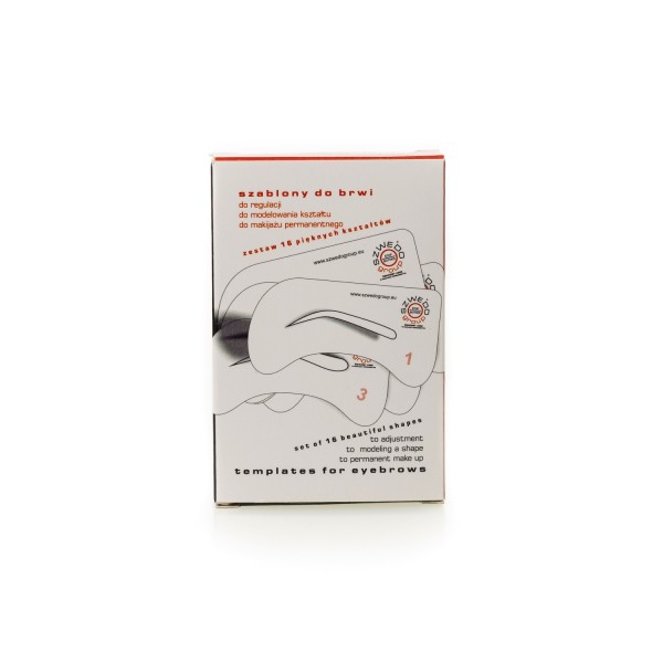Augenbrauenschablone für PMU und Microblading