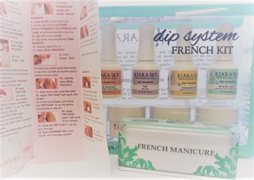 dip-powder-anleitung-french-nails