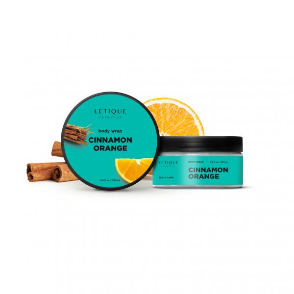 Letique Cosmetics® Cinnamon Orange Body Wrap Gel | speziell für straffende Anti-Cellulite Body Wrap