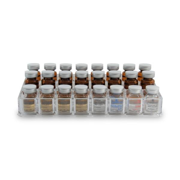 Acrylständer für 24 sterile Seren