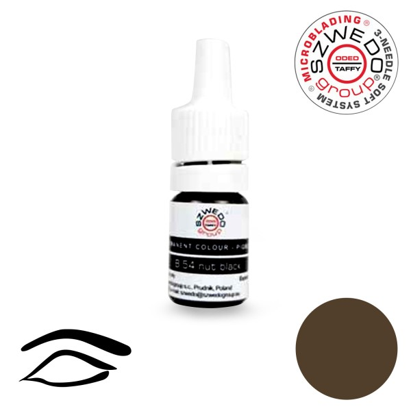 B-54 Black Nut Microblading-Pigment (5 ml)