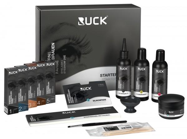RUCK® Wimpern- Augenbrauenfarbe Starter-Set