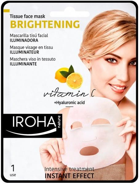 BRIGHTENING Maske mit Vitamin C und Hyaluron