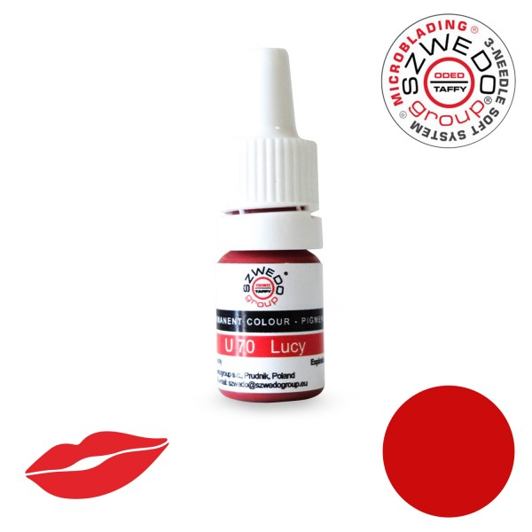 U-70 Lucy PMU Lippen-Pigment (5 ml)