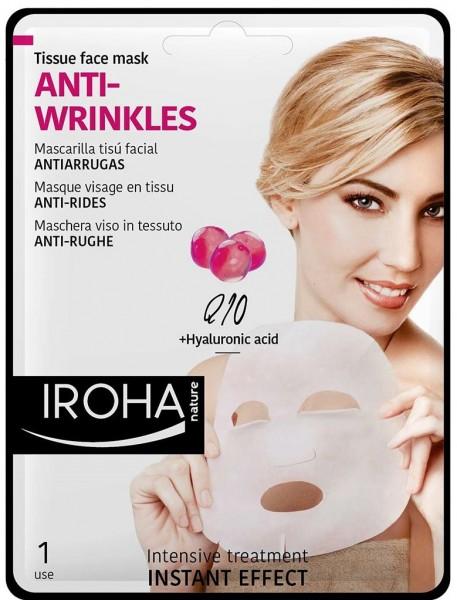 Iroha Anti Falten Maske Mit Q10 Günstig Kaufen Bei Dermida Dermida