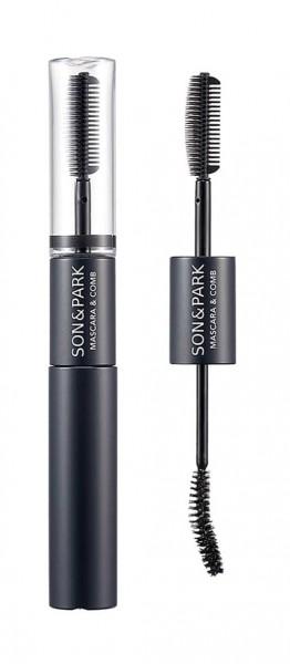 Son & Park Mascara & Comb ONYX Black