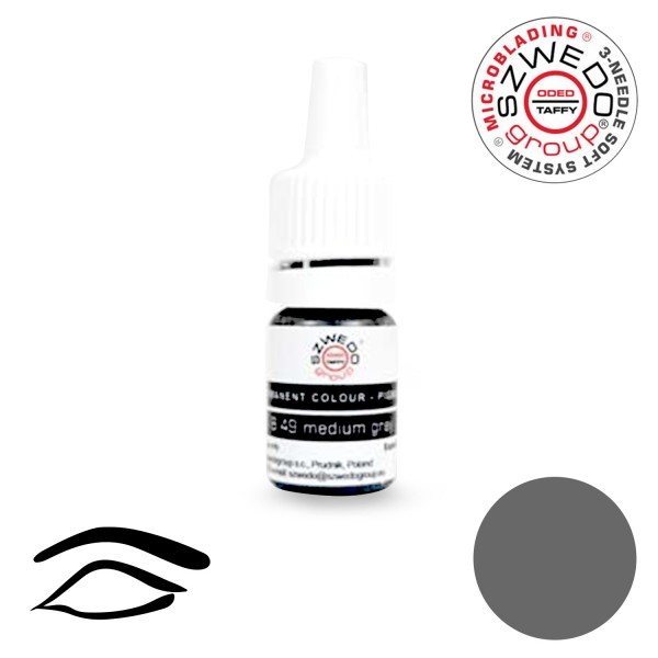 B-49 Medium Grey Microblading-Pigment (5 ml)